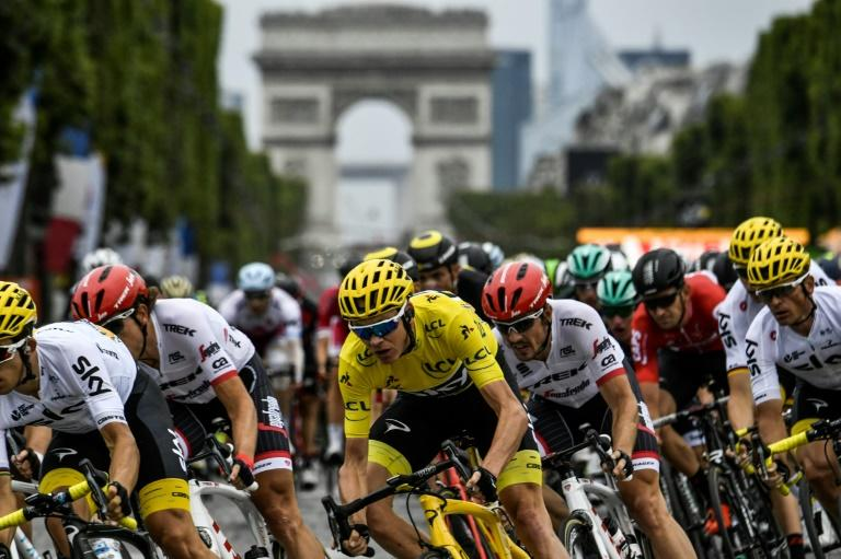 Tour de France: le jour de gloire de Geraint Thomas (direct)