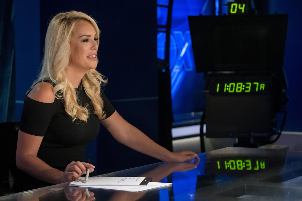 "McHenry's lawyers said she wouldn't comment on the texts and that she ""looks forward to continuing to progress in her career at Fox."" (Photo: The Washington Post via Getty Images)"