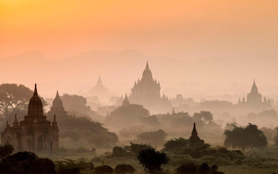 """Bagan, described by Somerset Maugham as """"huge, remote and mysterious, like the vague recollections of a fantastic dream"""", is Myanmar's flagship destination - Getty"""