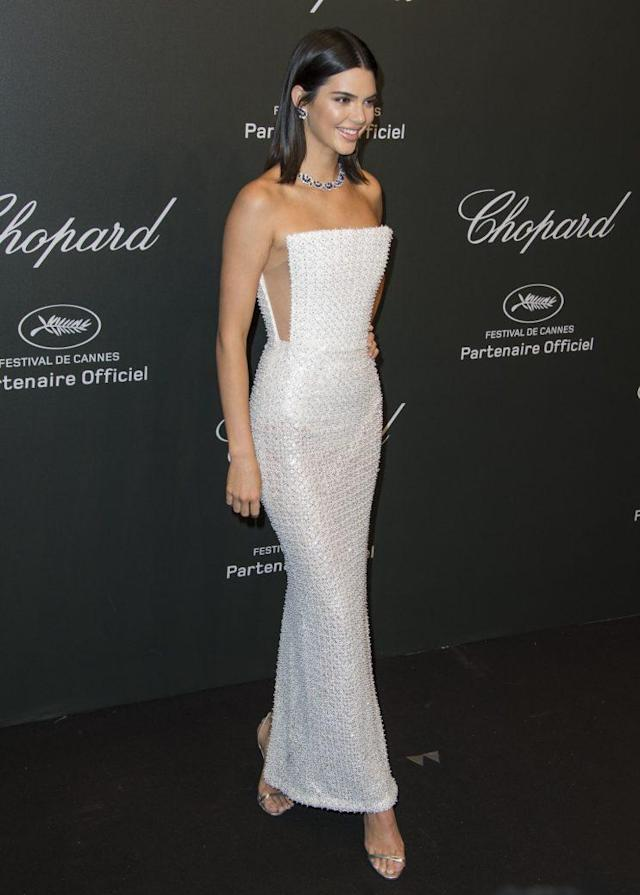 Kendall Jenner at the Chopard Space Party. (Photo: AP)