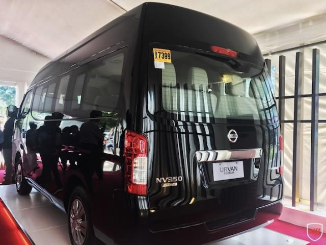 Rear portion of nissan urvan premium