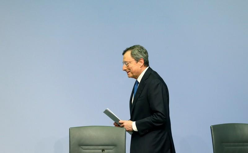 FILE PHOTO: FILE PHOTO: European Central Bank holds a news conference in Frankfurt