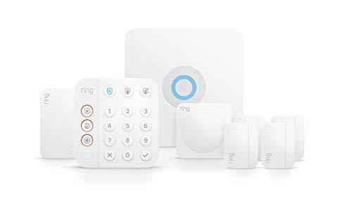 Ring Alarm 8-piece kit (2nd Gen) – home security system with optional 24/7 professional monit…
