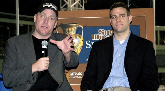 Chicago Cubs general manager Theo Epstein took a moment during a his interview with the Pardon My Take podcast to recall a story where the Red Sox were negotiating a contract extension with starting pitcher Curt Schilling.