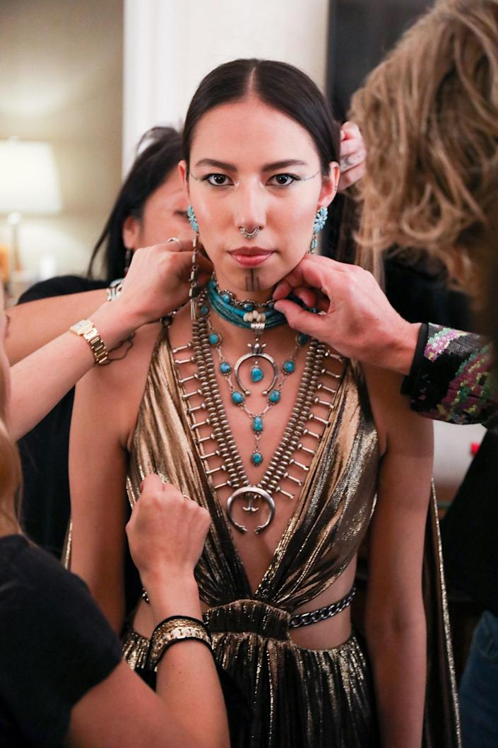 Rising Model Quannah Chasinghorse's First Met Gala Was Filled With Meaning