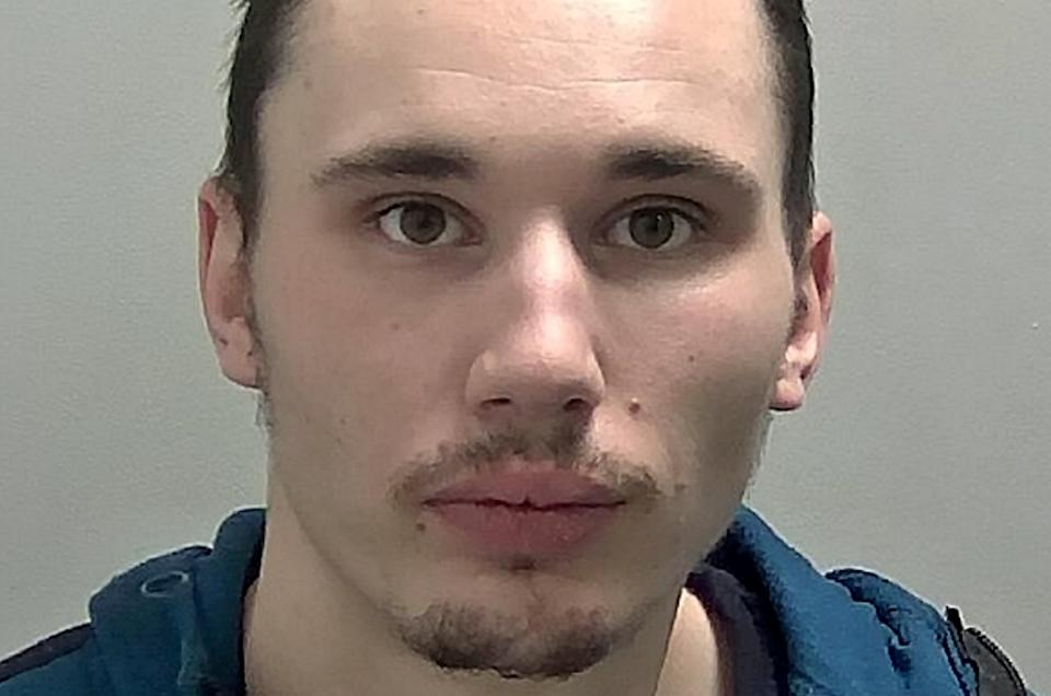 Jake Ilsley sparked a high speed police chase as he attempted to evade questioning by officers (swns)