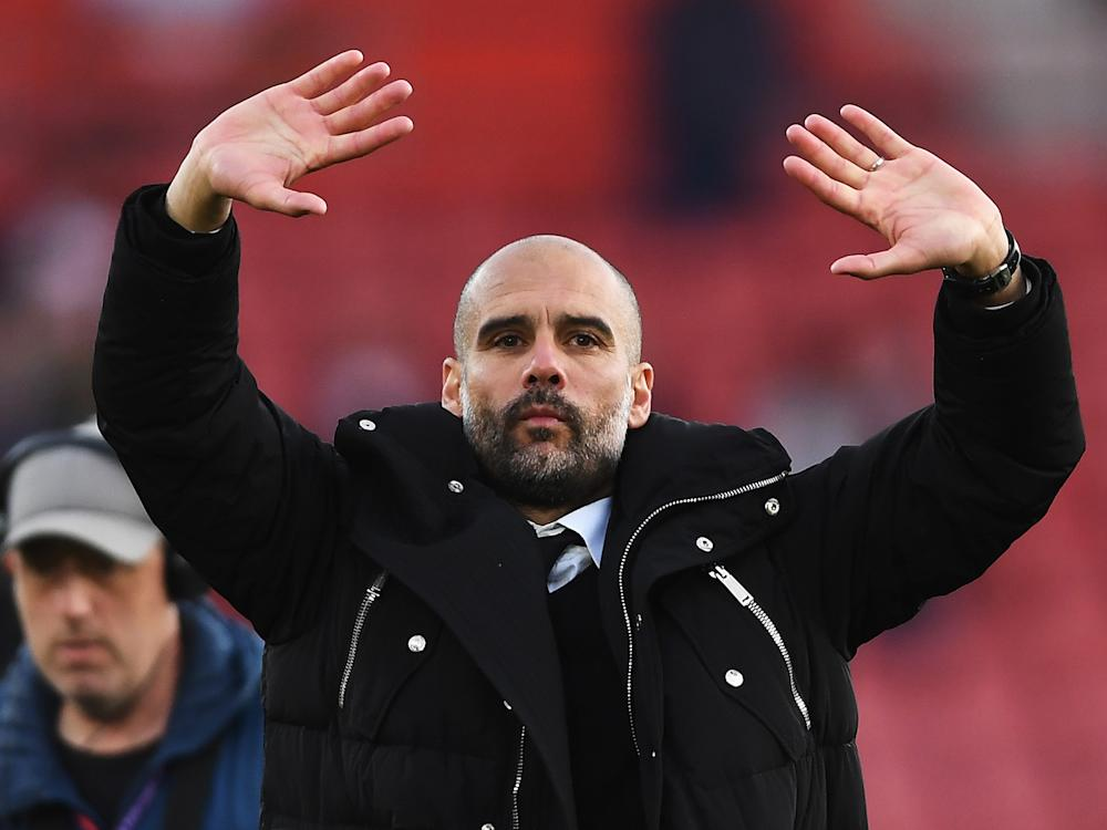 Pep Guardiola hailed his captain, who has missed much of the season through injury: Getty