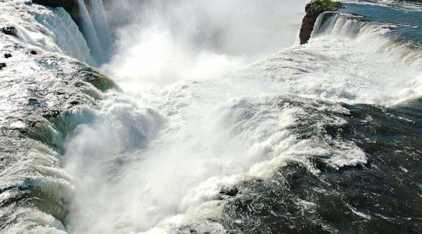 PHOTO: View from Iguazu Falls from Iguazu National Park in Argentina. (Netflix)