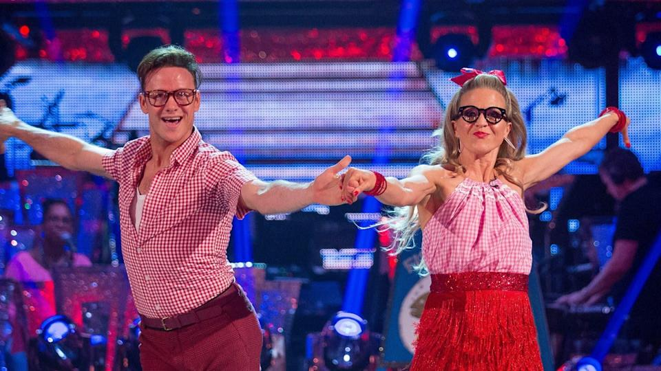 The star's onscreen mum, Kellie Bright, took part in Strictly previously. Copyright: [BBC]