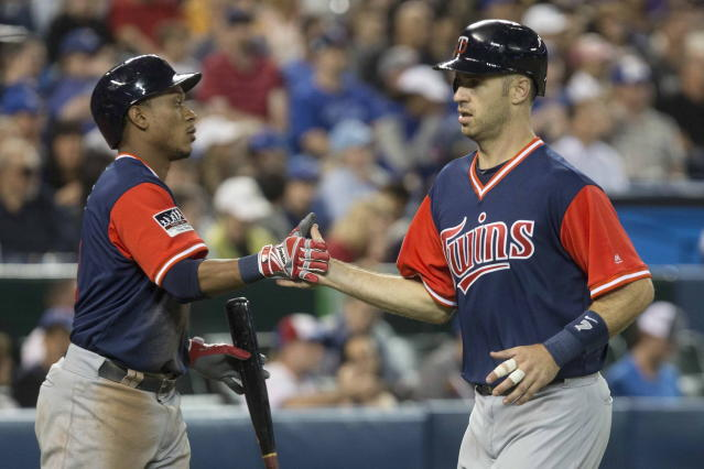 Joe Mauer and the Twins are relevant again. (Chris Young/The Canadian Press via AP)