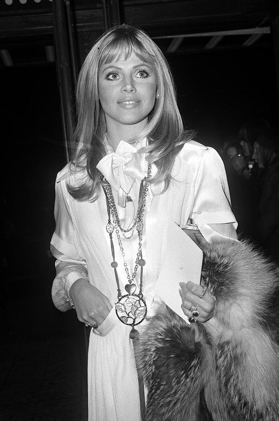 Britt Ekland in the 70s (PA)