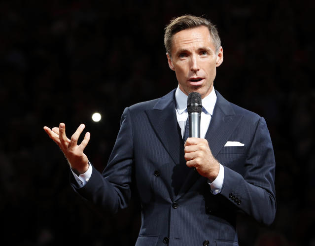 Steve Nash is reportedly getting a broadcast gig at Turner Sports, but it's not doing basketball. (AP)