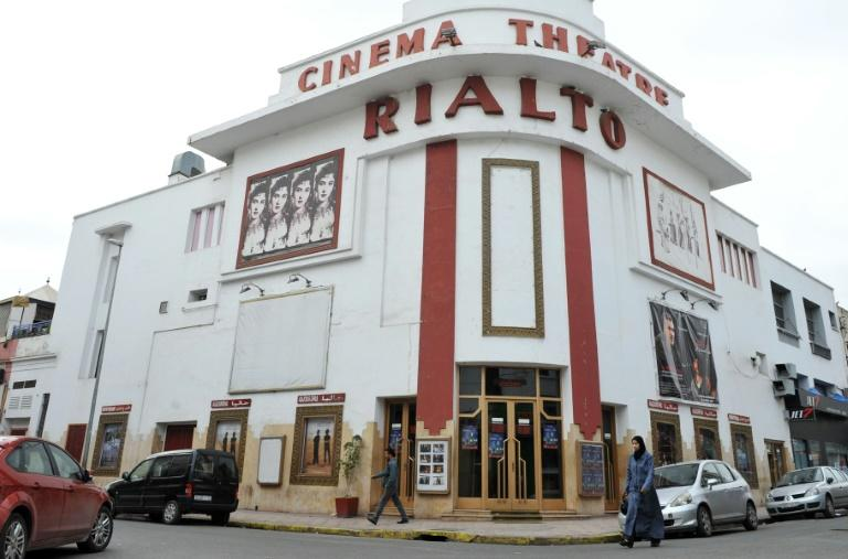 "The Rialto, designed in 1930, was one of the first cinemas in Casablanca, Morocco, and reflects the colonial architecture immortalised in the film ""Casablanca"" TO GO WITH AFP STORY by Omar BROUKSY A picture taken on April 18, 2012 shows the Rialto in Casablanca, one of the city's first cinemas, designed in 1930 by French architect Pierre Jabin. When the French seized Casablanca in the early 1900s, they turned the historic Morrocan port into a classic of colonial architecture that would be immortalised in the 1942 namesake film. In the decades since the release of ""Casablanca"", real-estate development and property speculation have reshaped the city into one bearing little resemblance to its movie depiction and preservationists are increasingly fretting about what will become of the crumbling French colonial facades, neo-Moorish detailings and art-deco hotels. AFP PHOTO / ABDELHAK SENNATO GO WITH AFP STORY by Omar BROUKSY A picture taken on April 18, 2012 shows the Rialto in Casablanca, one of the city's first cinemas, designed in 1930 by French architect Pierre Jabin. When the French seized Casablanca in the early 1900s, they turned the historic Morrocan port into a classic of colonial architecture that would be immortalised in the 1942 namesake film. In the decades since the release of ""Casablanca"", real-estate development and property speculation have reshaped the city into one bearing little resemblance to its movie depiction and preservationists are increasingly fretting about what will become of the crumbling French colonial facades, neo-Moorish detailings and art-deco hotels. AFP PHOTO / ABDELHAK SENNA"