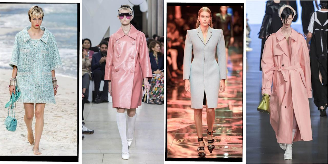 <p>Whether heavy leather jackets a la Alexander Wang or airy, lightweight denim is much more up your street - the catwalks of spring/summer 2019 have got you covered. </p>