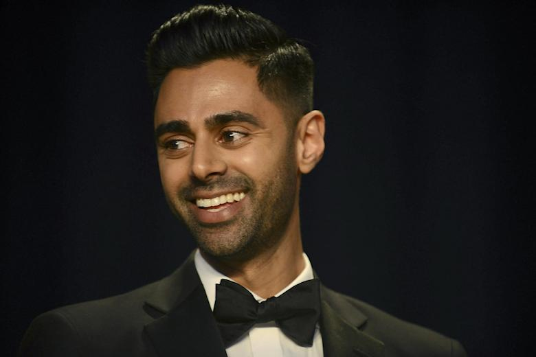 Hasan MinhajWhite House Correspondents' Dinner in Washington, DC, USA - 29 Apr 2017US 'Daily Show' comedian Hasan Minhaj performs during the White House Correspondents' dinner at the Washington Hilton in Washington, DC, USA, 29 April 2017. US President Donald J. Trump did not attend the Correspondents' dinner, breaking a long standing tradition.
