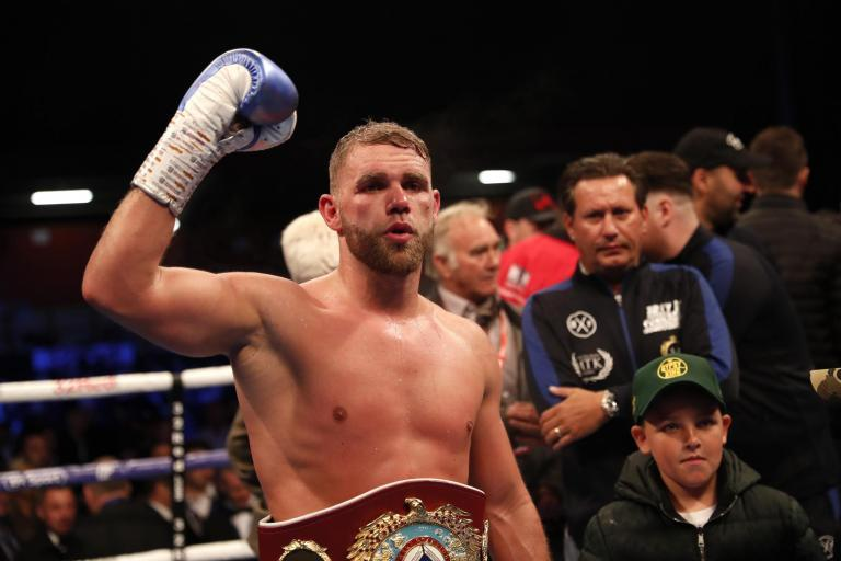 Billy Joe Saunders eager for Callum Smith fight... but admits he might have to wait for unification opportunity