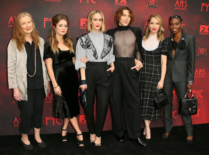 The cast of American Horror Story