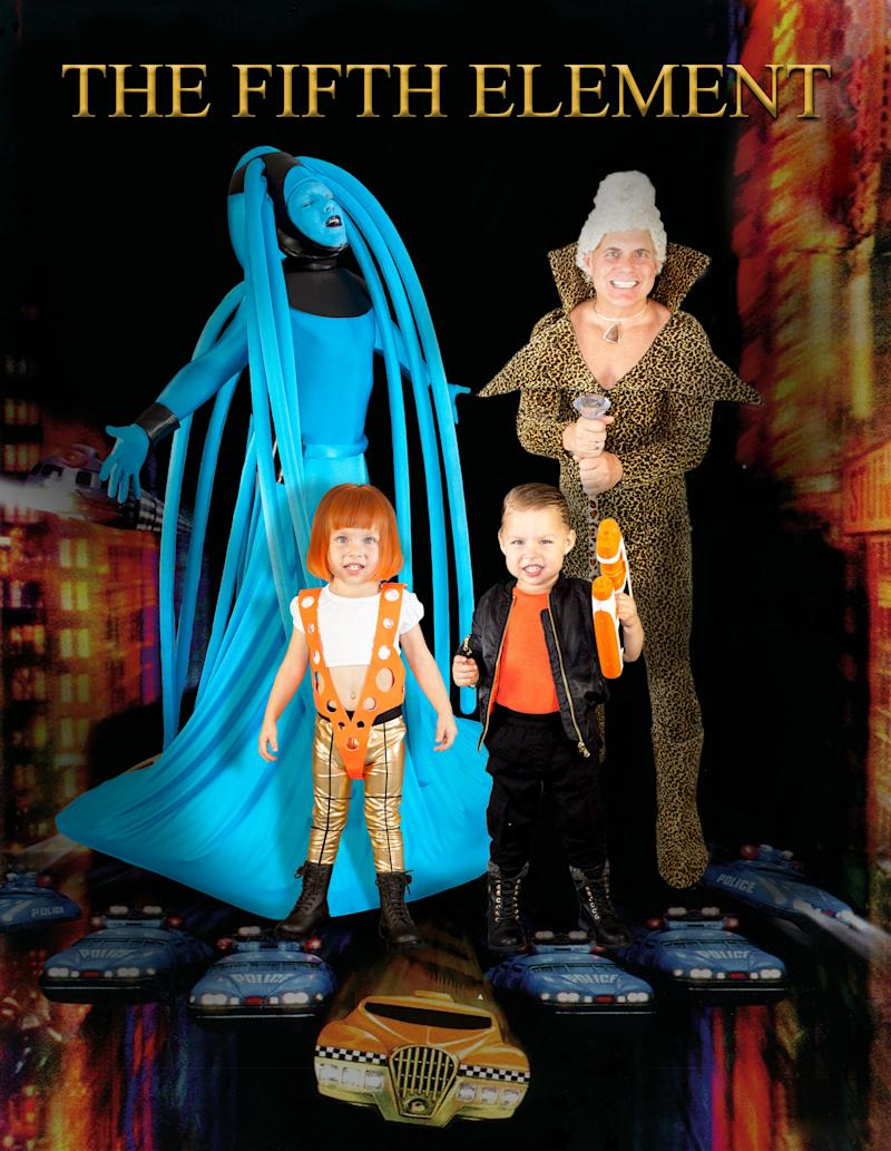 """This year, the family is channeling """"The Fifth Element."""""""