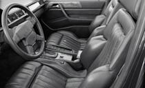 <p>Deciding that wasn't enough, AMG punched out the engine to 6.0 liters, with AMG claiming 365 horsepower in smog-choked U.S. trim. The firm also said that a Euro-spec car could hit 187 mph. If you were 11 years old in 1987, a monochrome Benz sedan that went almost 190 was about as mind-bending as receiving a classroom valentine from Kathy Ireland. Sure, your Charger Hellcat has Mercedes underpinnings and does 200 mph—and it still costs half of what a Hammer would run you in 1986, as the as-tested price of the car we drove was $137,000. While the Hellcat is surely the stuff of today's teenage dreams, for those of us hovering around 40, well, it's not a damn <em>Hammer</em>. <em>—Davey G. Johnson</em></p>