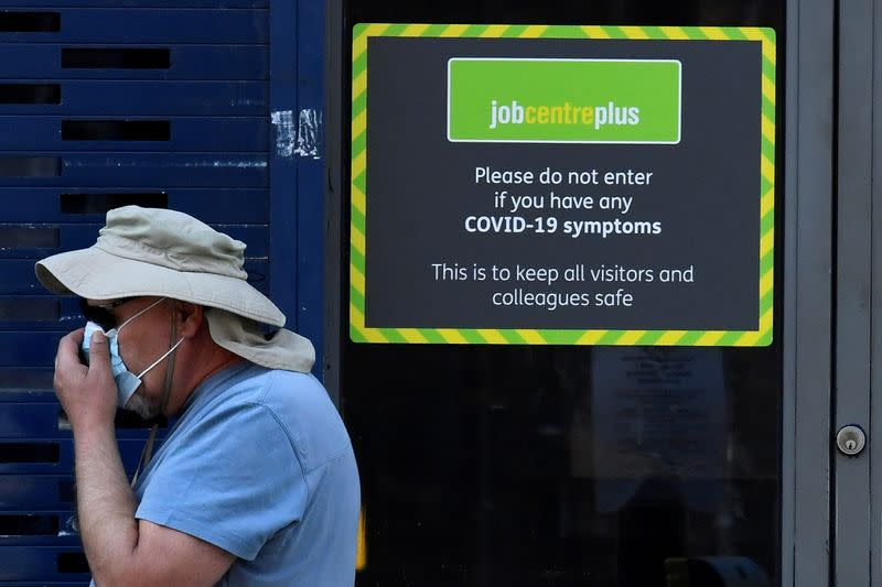 Around 5 million UK jobs still furloughed at end of July, government says