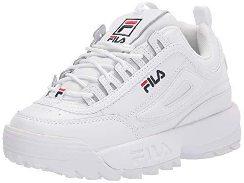 """<p><strong>Fila</strong></p><p>amazon.com</p><p><strong>$50.35</strong></p><p><a href=""""https://www.amazon.com/dp/B07444854P?tag=syn-yahoo-20&ascsubtag=%5Bartid%7C2141.g.36201802%5Bsrc%7Cyahoo-us"""" rel=""""nofollow noopener"""" target=""""_blank"""" data-ylk=""""slk:Shop Now"""" class=""""link rapid-noclick-resp"""">Shop Now</a></p><p>Looking for a blast from the past? These '90s dad-inspired sneakers are trendier than ever, and perfect for everything from walking to Pilates, a spin class, or just running errands. </p><p>You've probably already seen these all over your Instagram feed, so it's no surprise that the 17,000 five-star reviews are filled with fashionistas.</p>"""