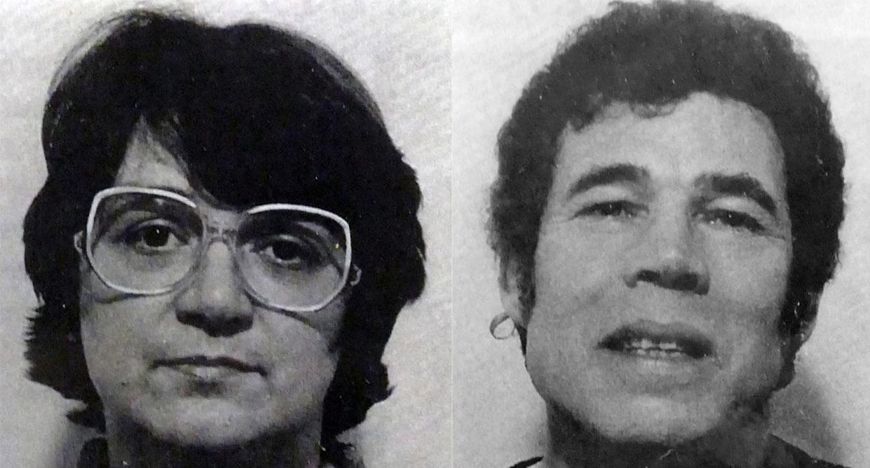 Rose and Fred West. (Photos by Universal History Archive/ Universal Images Group via Getty Images)