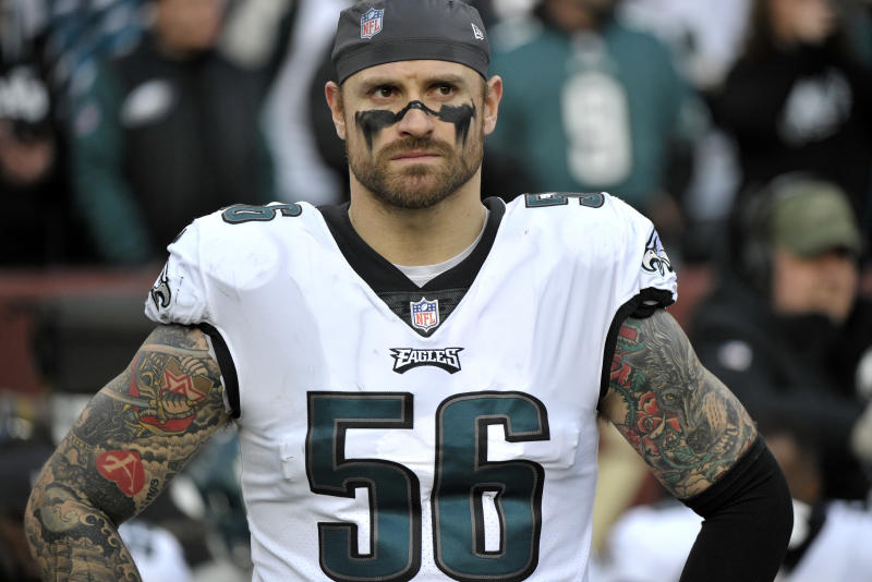 Eagles' Long appears to retire from NFL