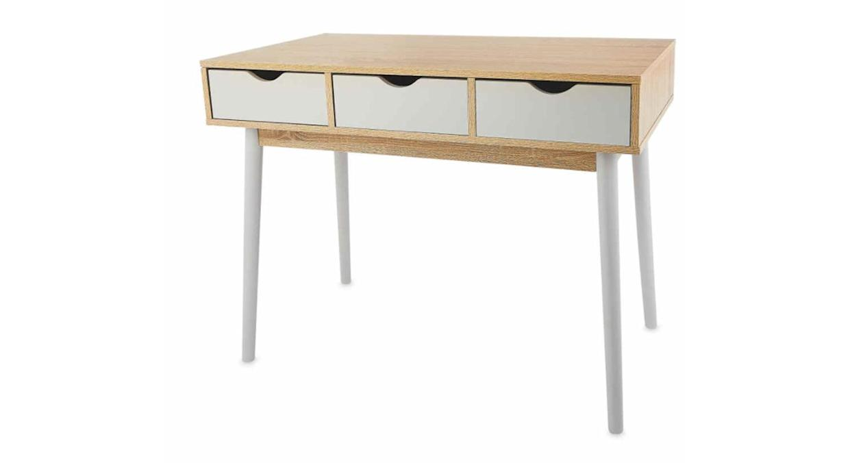 Contemporary Wooden Console Table