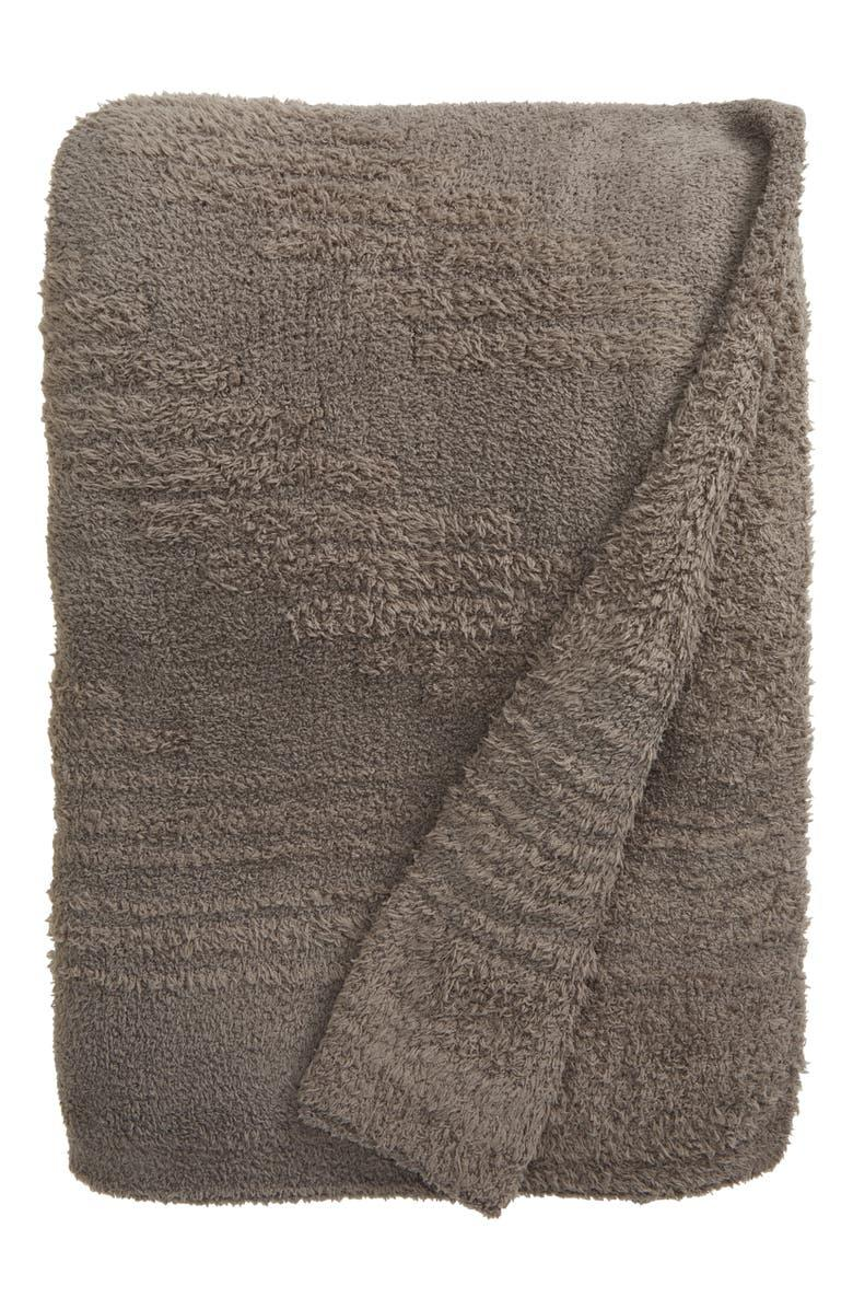Barefoot Dreams CozyChic Textured Patterned Throw Blanket. Image via Nordstrom.