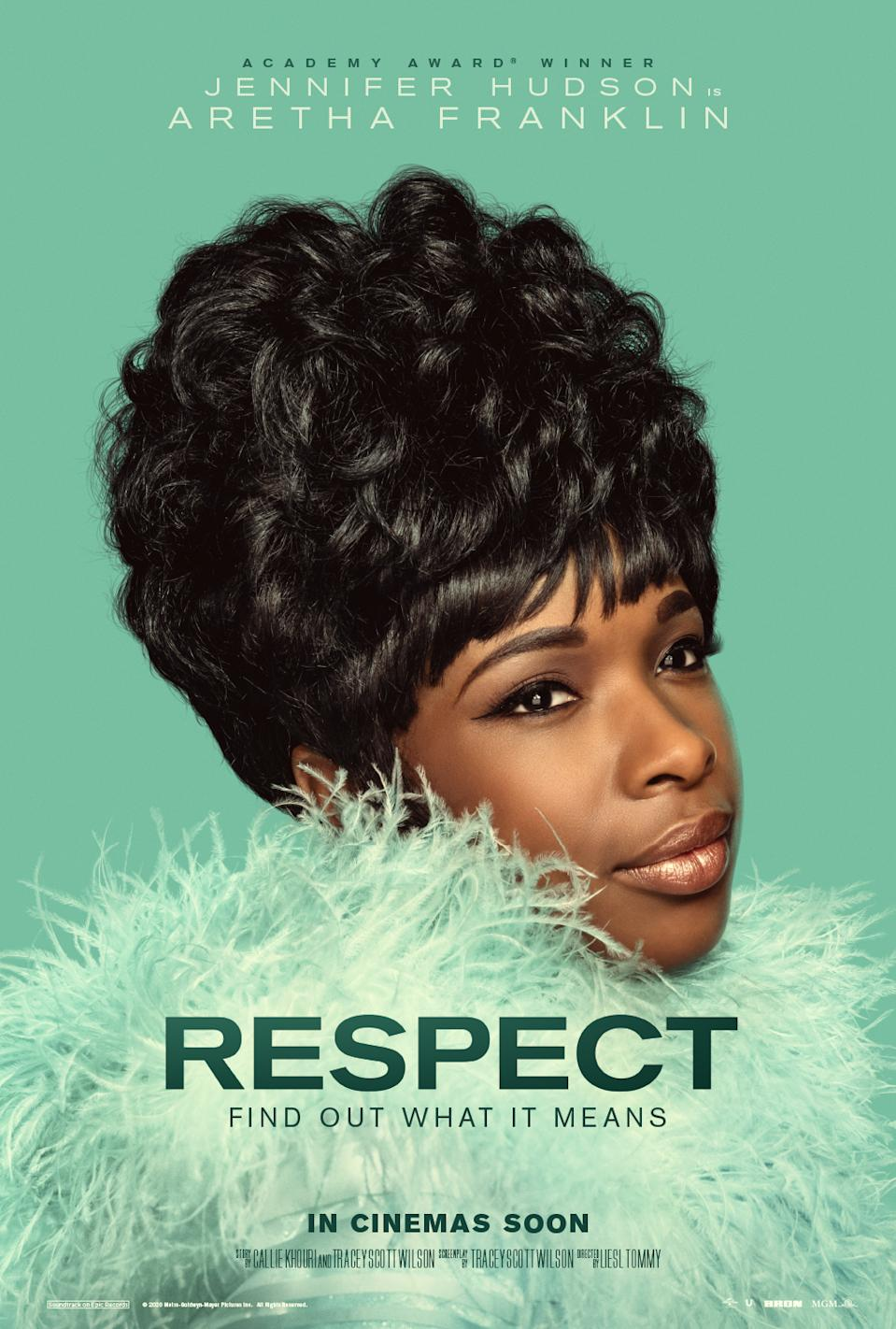 The UK poster for Respect. (Universal)