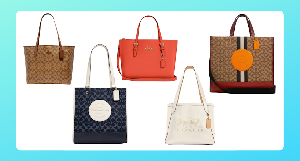 These Coach tote bags are perfect for summer — and they start at 50% off (Photos via Coach Outlet)