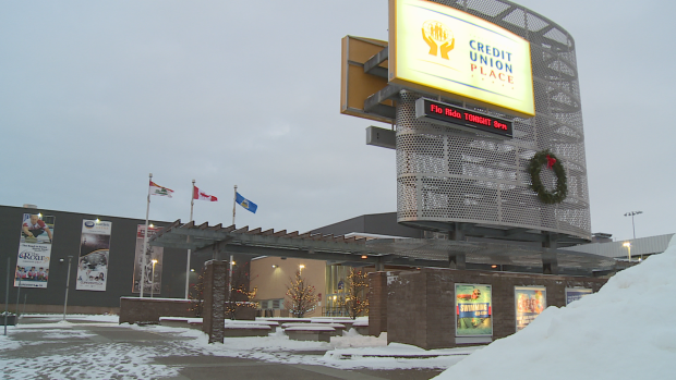 Many concerts and events were cancelled or postponed at Credit Union Place last year. (Stephanie Brown/CBC - image credit)