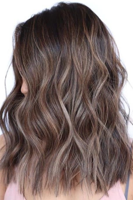 "<p>Take chocolate brown to cool new heights—cool-toned, that is. This ashy coffee brown mane by <a href=""https://www.instagram.com/jamiewilhelm.hair/"" target=""_blank"">stylist Jamie Wilheim</a> is the perfect fall color. </p>"