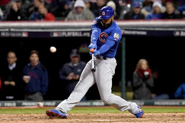 Jason Heyward is revamping his swing for 2017. (Getty Images/Jason Miller)