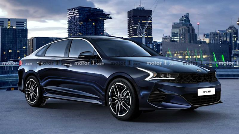 exclusive 2021 kia optima could look like this