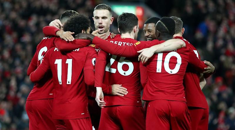 Liverpool Lift EPL 2019-20 Champions Trophy, Fans Go Berserk on Social Media Celebrating The Reds' First Win in the Premier League Era!
