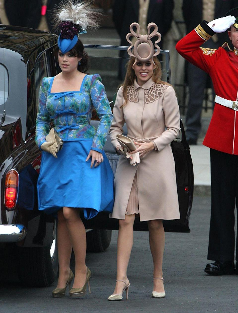 """<p>Establishing a dress code for guests beyond just """"cocktail"""" leads to memorable outfits—and better photos. Plus, an over-the-top fascinator really commands a Zoom ceremony. </p><p><strong>More</strong>: <a href=""""https://www.townandcountrymag.com/style/fashion-trends/g19839949/hats-fascinators-to-wear-royal-wedding/"""" rel=""""nofollow noopener"""" target=""""_blank"""" data-ylk=""""slk:30 Hats and Fascinators to Wear to the Royal Wedding"""" class=""""link rapid-noclick-resp"""">30 Hats and Fascinators to Wear to the Royal Wedding</a></p>"""