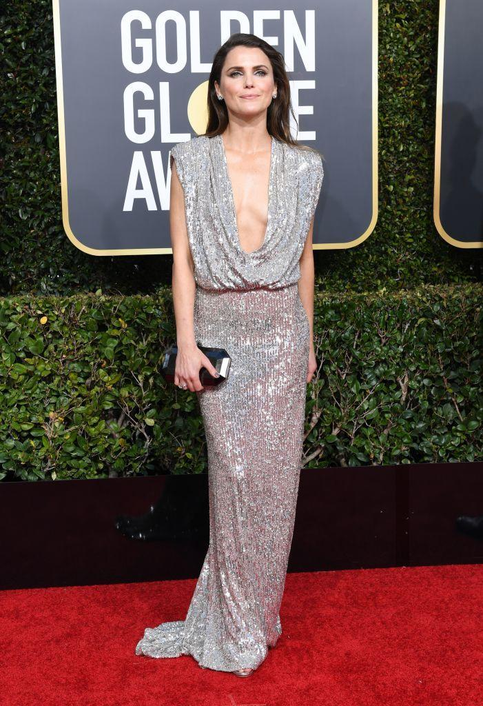 <p>Keri Russell, of <em>The Americans</em>, attends the 76th Annual Golden Globe Awards at the Beverly Hilton Hotel in Beverly Hills, Calif., on Jan. 6, 2019. (Photo: Getty Images) </p>