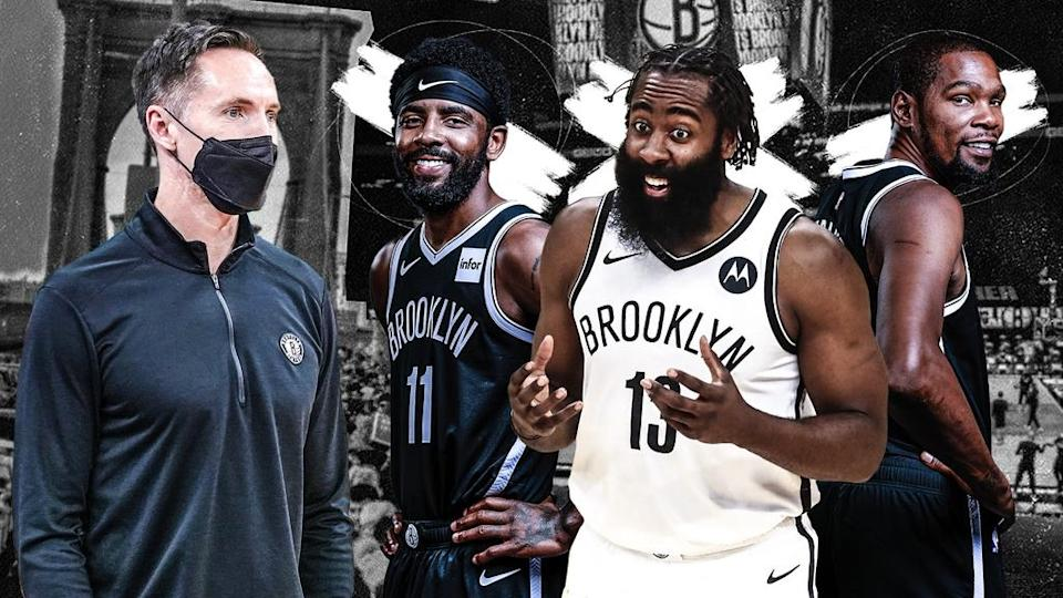 Steve Nash, Kyrie Irving, James Harden and Kevin Durant treated image