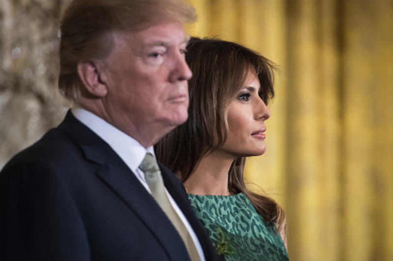 Trump Visits Melania At Hospital For Third Day In A Row
