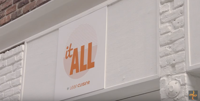 Lean Cuisine launched a new campaign and an #ItAll social experiment. (Photo: Lean Cuisine)
