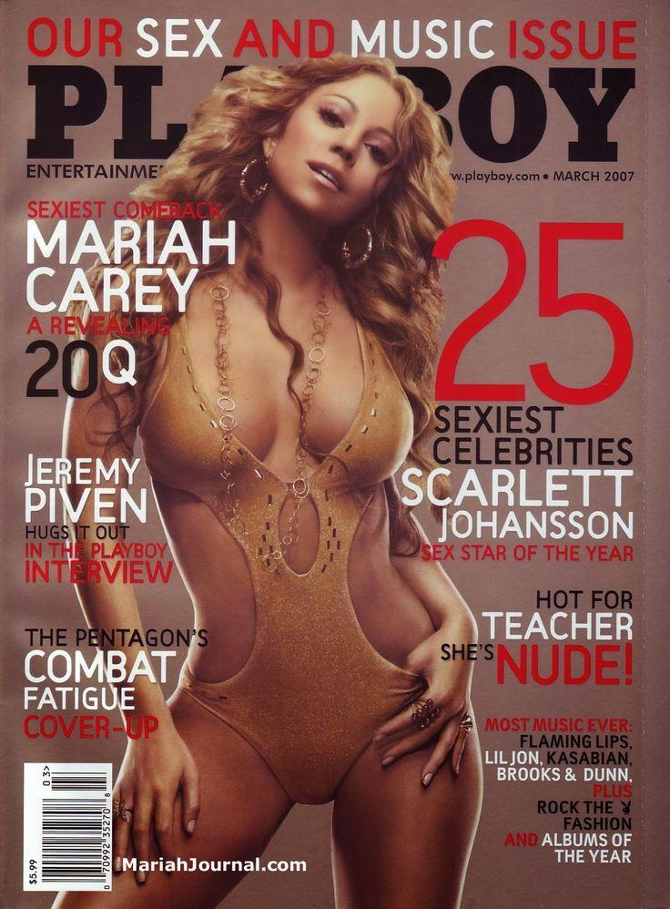 <p><strong>Issue: </strong>March 2007</p><p>Mariah Carey's tan cut-out one-piece was perfection on her March 2007 cover. </p>