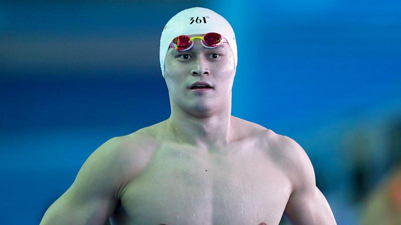 WADA want answers from China after Sun Yang was called up to an Olympic training squad. Pic: Getty