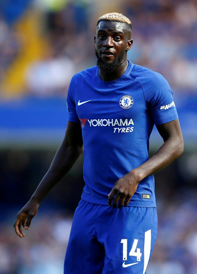 "FILE PHOTO: Football Soccer - Premier League - Chelsea vs Everton - London, Britain - August 27, 2017   Chelsea's Tiemoue Bakayoko   Action Images via Reuters/Peter Cziborra  EDITORIAL USE ONLY. No use with unauthorized audio, video, data, fixture lists, club/league logos or ""live"" services. Online in-match use limited to 45 images, no video emulation. No use in betting, games or single club/league/player publications. Please contact your account representative for further details."