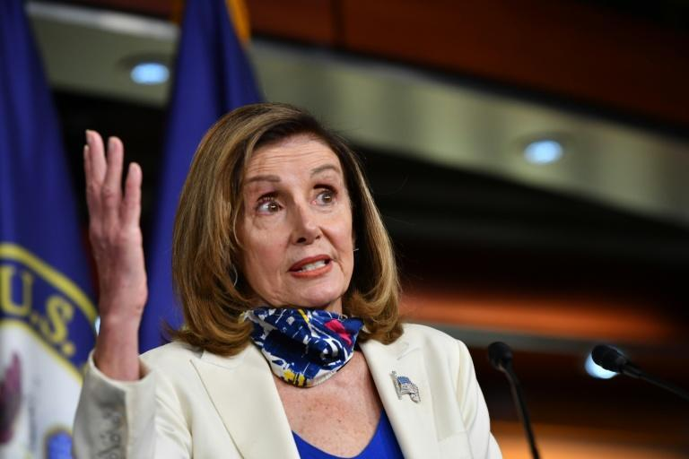 Democratic House Speaker Nancy Pelosi wants to spend $2.2 trillion on another US stimulus measure, but Republicans say the bill would be too much