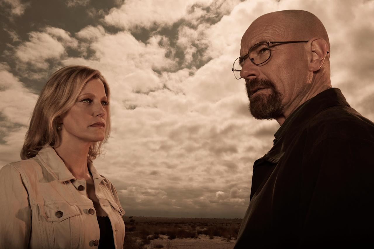"Skyler White (Anna Gunn) and Walter White (Bryan Cranston) in ""Breaking Bad"" Season 5."