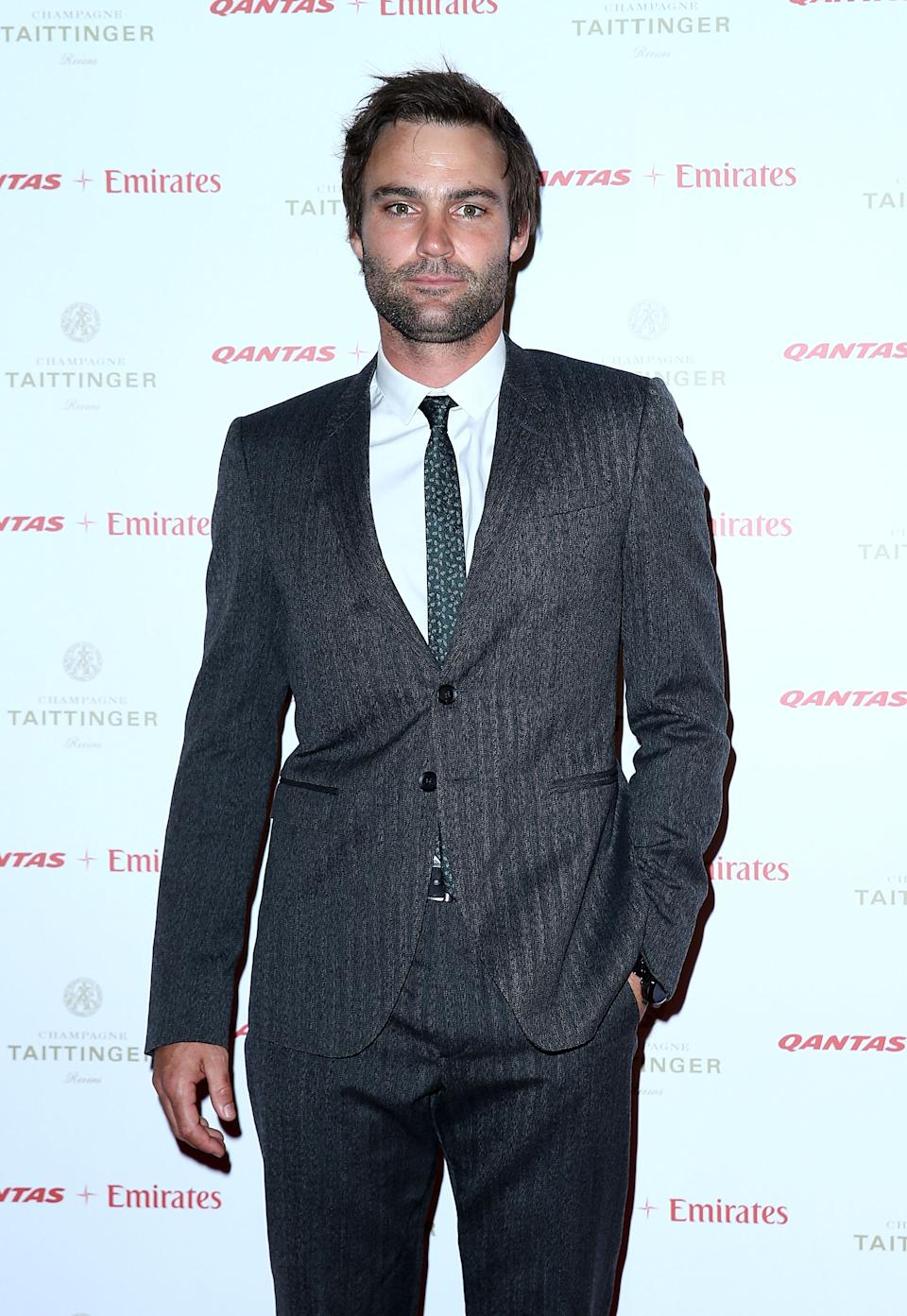 SYDNEY, AUSTRALIA - APRIL 18:  Actor Matt Le Nevez attends the QANTAS Gala Dinner at Sydney Domestic Airport on April 18, 2013 in Sydney, Australia.  (Photo by Marianna Massey/Getty Images)