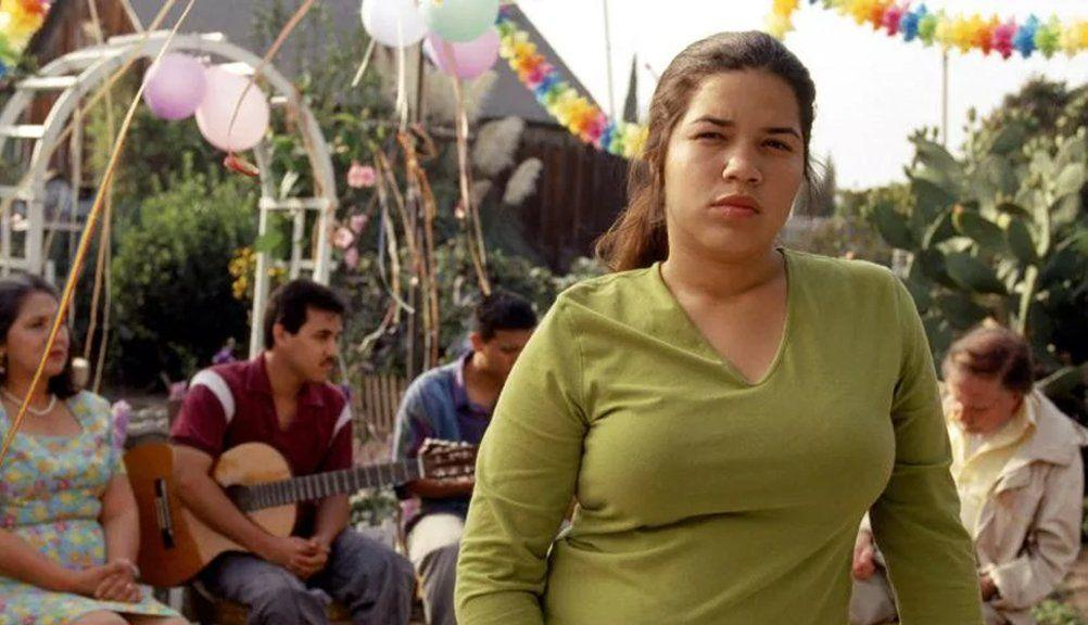 """<p>America Ferrera's break-out role came in this gem of an indie film. Ana Garcia (Ferrera) clashes with her mom, Carmen (Lupe Ontiveros), over her dreams of leaving Los Angeles and going to college. The summer after graduation, Ana blossoms into the person she wants to be—but will her mom accept it? </p><p><a class=""""body-btn-link"""" href=""""https://www.amazon.com/gp/video/detail/B01D7S57N6/?tag=syn-yahoo-20&ascsubtag=%5Bartid%7C10072.g.27063693%5Bsrc%7Cyahoo-us"""" target=""""_blank"""">Watch Now</a></p>"""