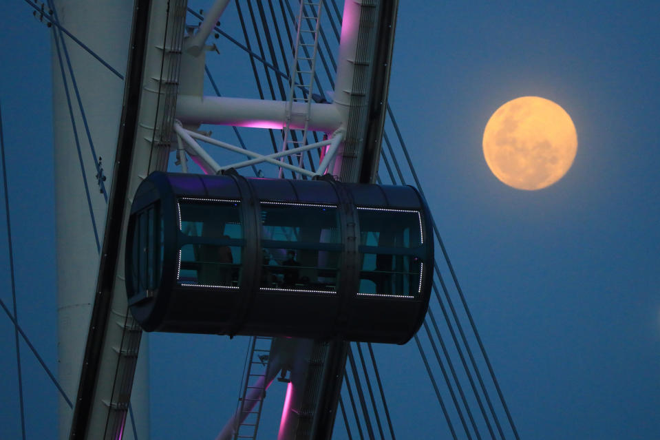 The Singapore Flyer seen on 26 February. (PHOTO: Getty Images)