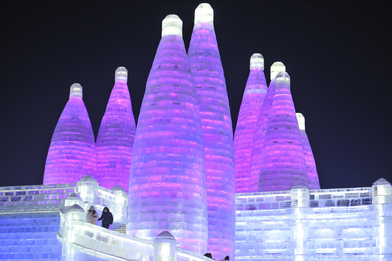 "<p>With its long exhibition period (60 to 70 days), high quality, new content, large scale and variety of entertainment, the expo is also known as ""the world's largest ice and snow carnival."" (Photo: Tao Zhang/Getty Images) </p>"